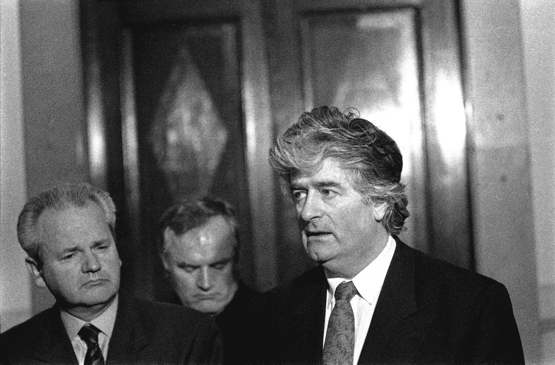 Saveznici Milošević, Mladić i Karadžić u Beogradu