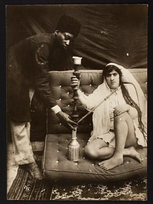 Primjer fotografije iz doba dinastija Kadžar