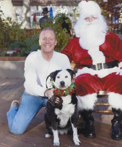 Eric i Peety s Djedom Mrazom
