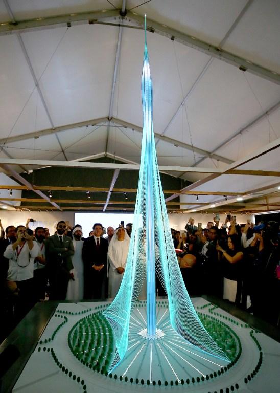 Model novog najvišeg nebodera na svijetu