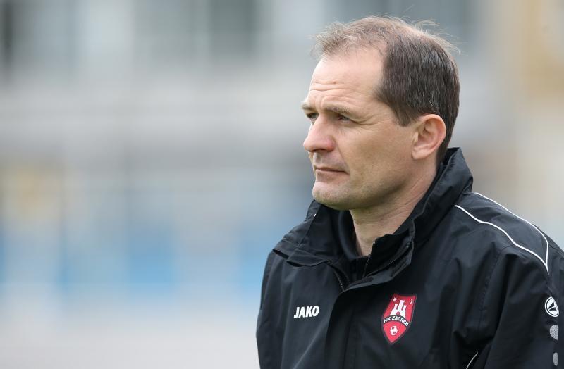 Trener Zagreba Dražen Medić.