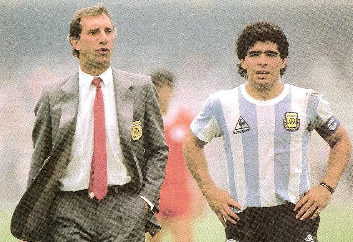 Carlos-BILARDO-Diego-MARADONA