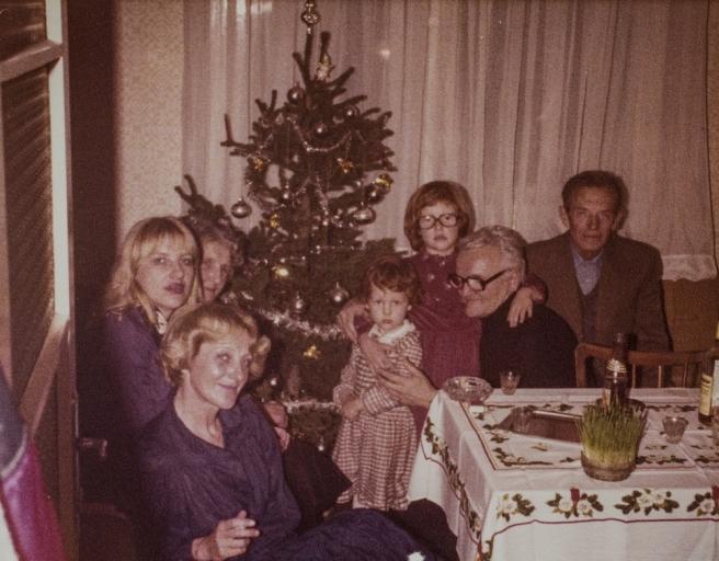 Proslava Božića 1979. godine u stanu Zorana Bakića na zagrebačkim Ravnicama
