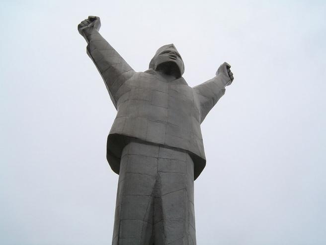 Spomenik Nikoli Filipoviću koji je poznat kao Valjevac