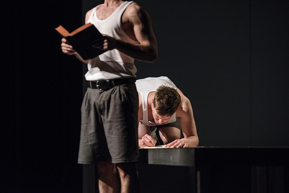 Leventić i Živolić u jednoj od scena