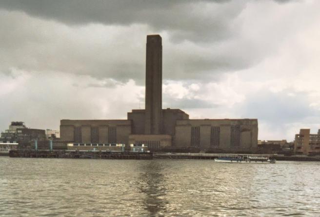 Elektrana Bankside prije obnove i prenamjene u Tate Modern