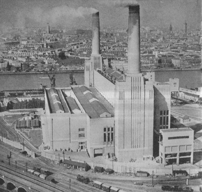 Prije elektrane Sidebank razmatrala se još veća elektrana Battersea