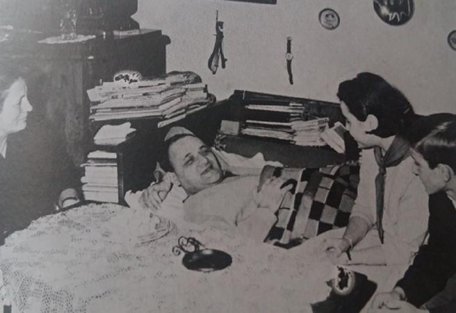 U bolesničkoj postelji sredinom šezdesetih godina