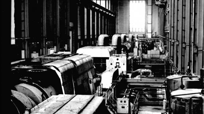 Ovako je najveća dvorana Tatea izgledala prije no što su iz nje maknute turbine