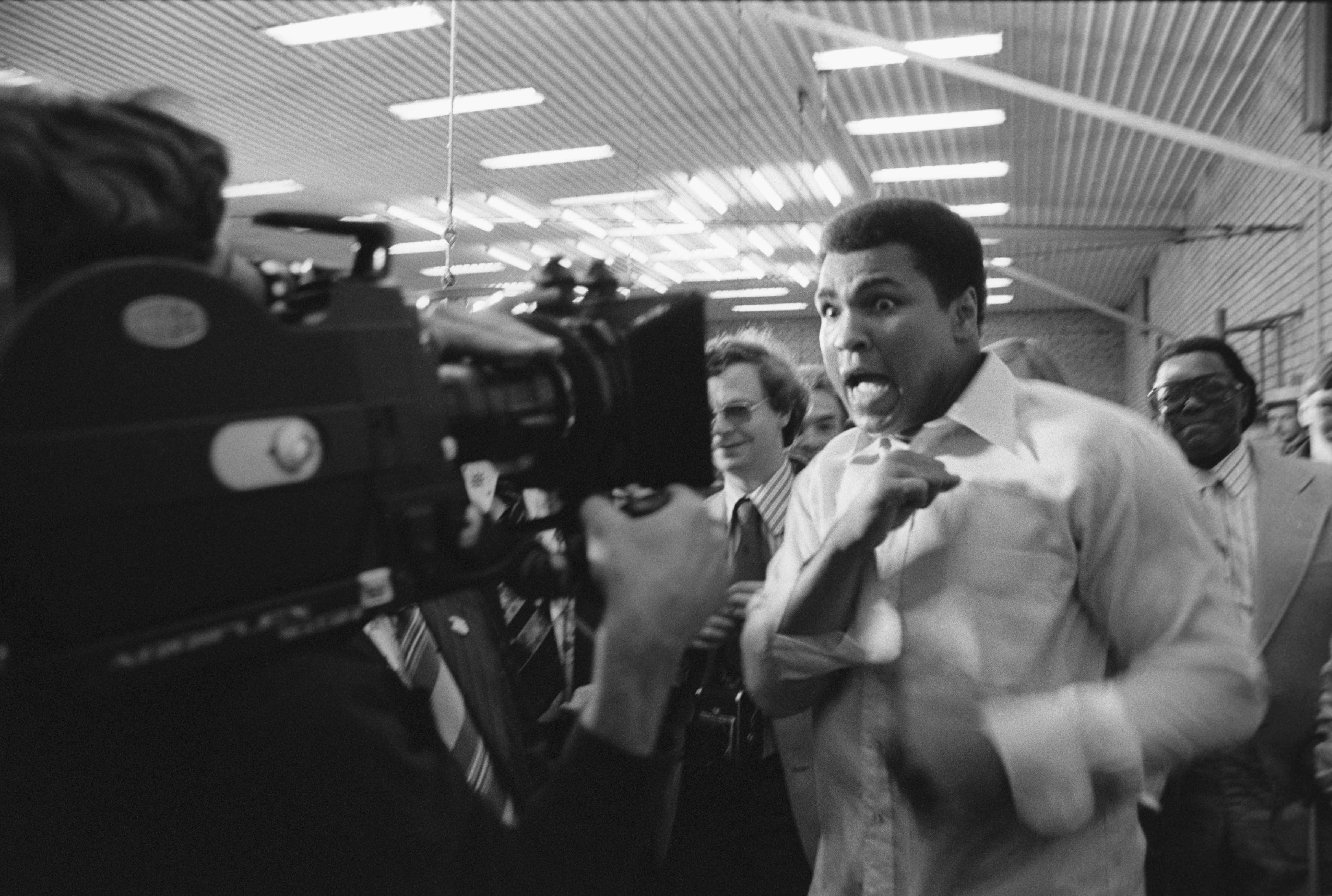 American legendary boxer Muhammad Ali (Cassius Marcellus Clay) visiting Moscow., Image: 86583435, License: Rights-managed, Restrictions: Vyat-K01_0320, Model Release: no, Credit line: Profimedia, Sputnik