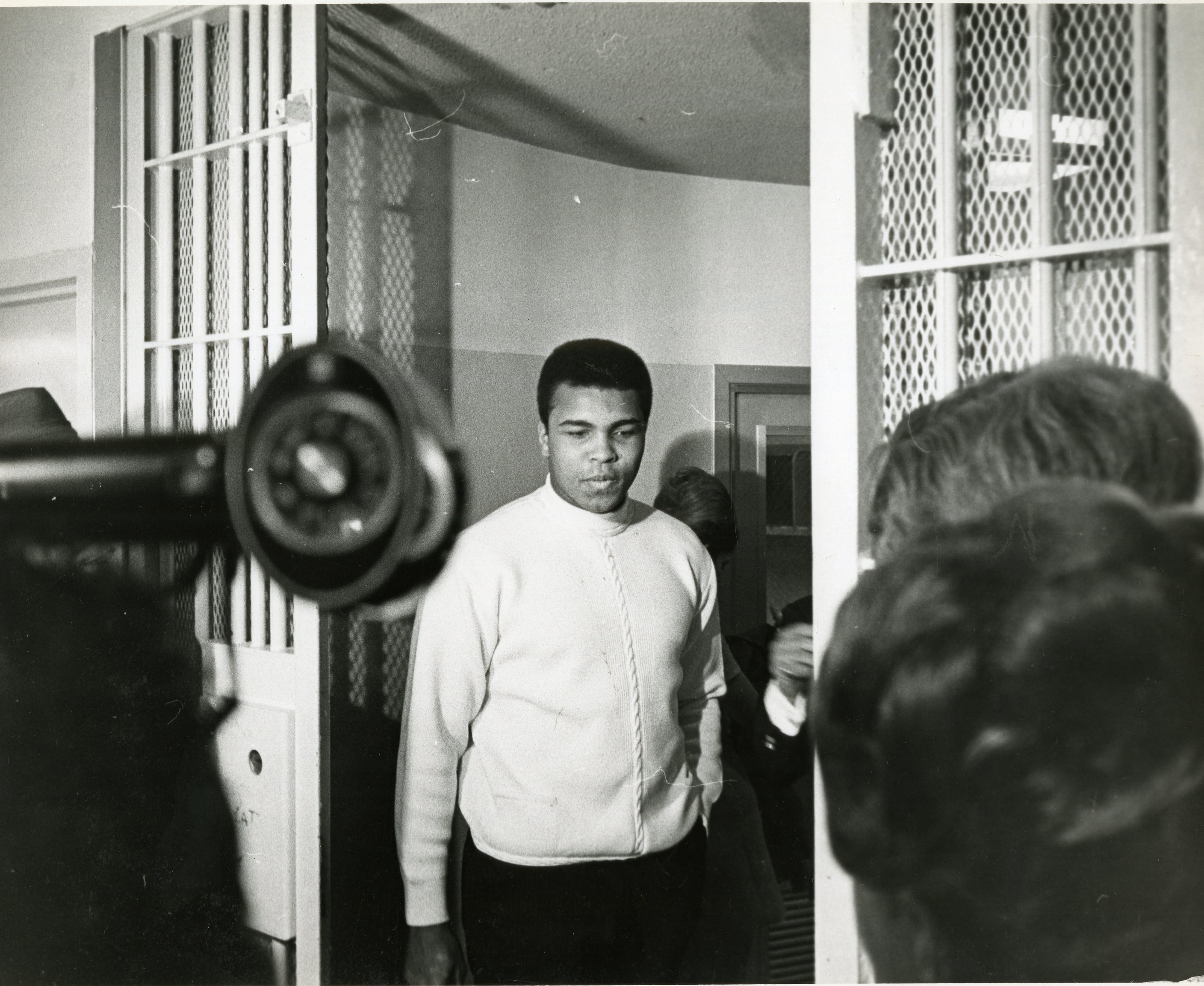 Dec. 12, 1968 - Florida, U.S. - December 12, 1968: Muhammad Ali at a Miami jail after being stopped on a traffic violation., Image: 256440678, License: Rights-managed, Restrictions: * Florida Sun Sentinel Rights OUT *, Model Release: no, Credit line: Profimedia, Zuma Press - News