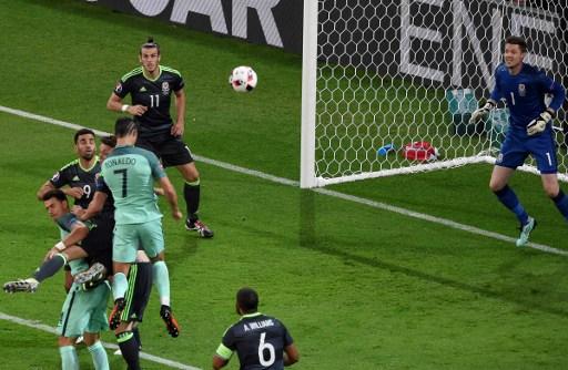 Ronaldo zabija prvi gol