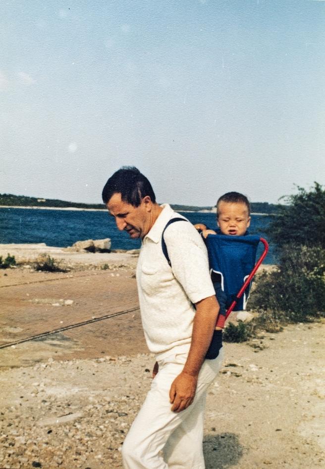 Sa sinom Stefanom krajem 1979. godine
