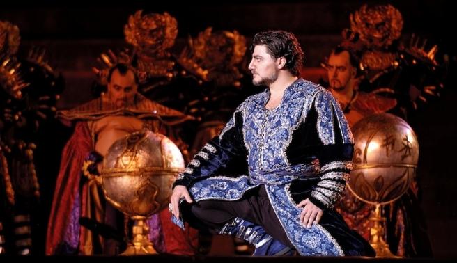 Cura kao Turandot 2005. godine