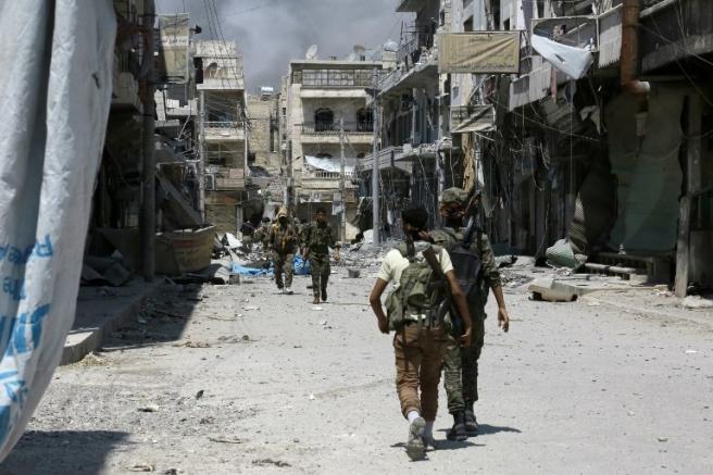 Pripadnici sirijskog SDF-a