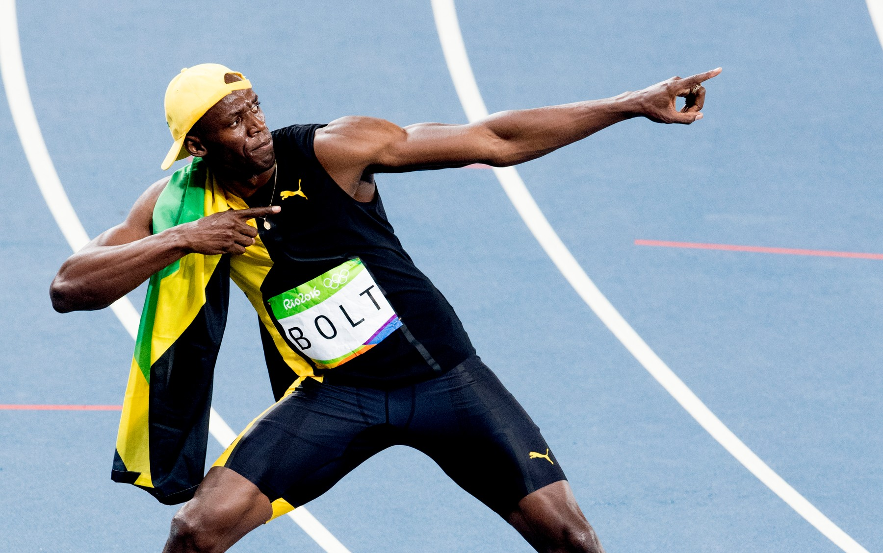 Rio 2016 - Men's 100m - Usain Bolt Wins 3rd Title