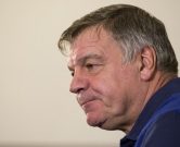(FILES) This file photo taken on August 29, 2016 shows England football manager Sam Allardyce taking part in a press conference at St George's Park, near Burton-on-Trent, central England.  England manager Sam Allardyce has been secretly filmed giving advice on how to circumnavigate transfer rules and mocking his predecessor Roy Hodgson's voice, the Daily Telegraph reported on September 27, 2016. / AFP PHOTO / OLI SCARFF
