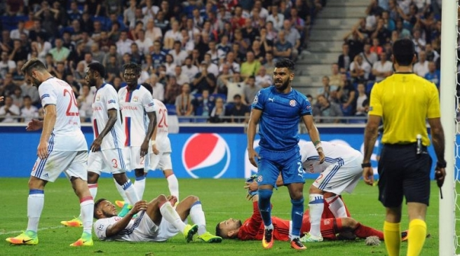 Olympique Lyonnais v Dinamo Zagreb El Arabi Hilal Soudani of Dinamo Zagreb during the Uefa Champons League match between Olympique Lyonnais Lyon and Dinamo Zagreb at Stade des Lumieres on September 14, 2016 in Decines-Charpieu, France. (Photo by Jean Paul Thomas/Icon Sport)