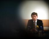 22.07.2016., Zagreb - Ministarstvo financija, ministar financija Zdravko Maric novinarima prezentirao preliminarne podatke o Izvrsenju drzavnog proracuna Republike Hrvatske za prvo polugodiste 2016. g. Photo: Robert Anic/PIXSELL