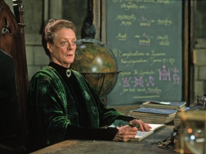 Minerva McGonagall bila je špijunka Ministarstva magije
