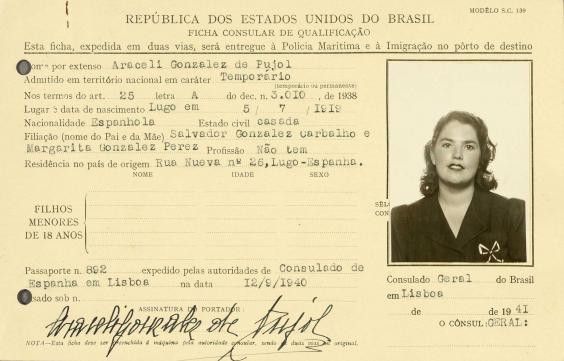 Osobna iskaznica gospođe Garbo