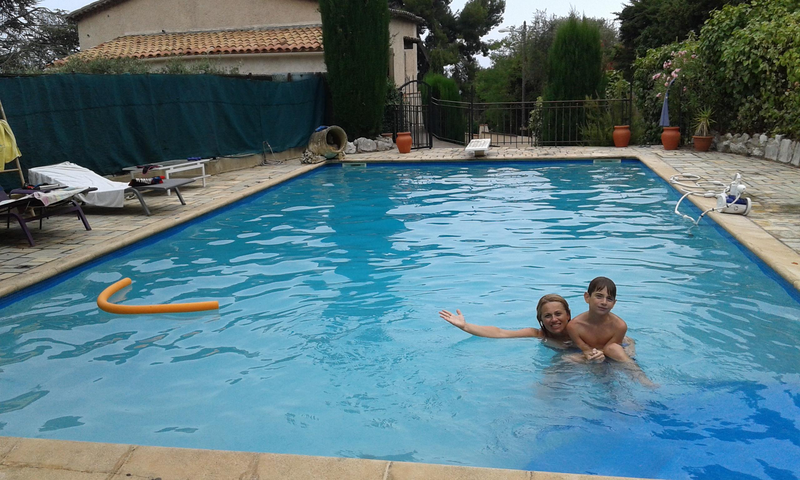 naš bazen u Nici