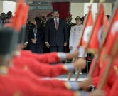 Venezuelan President Nicolas Maduro (C) attends a military promotion ceremony in Caracas on July 1, 2014. AFP PHOTO/Leo RAMIREZ / AFP PHOTO / LEO RAMIREZ