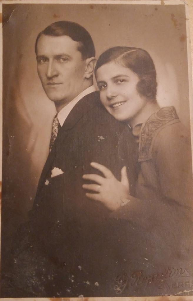 Doktor Stanko Sielski sa ženom Ankom