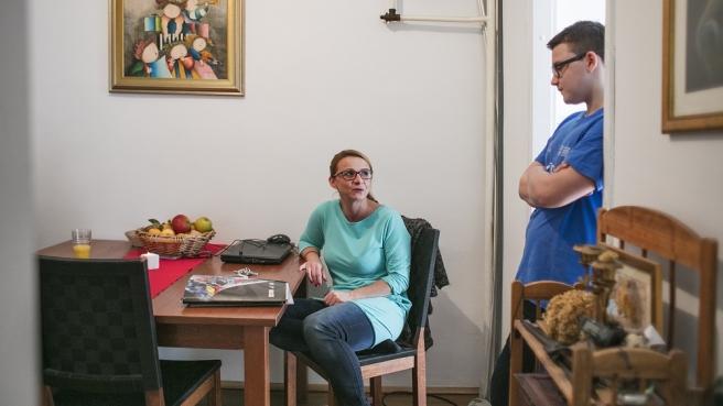 Sandra Beneta je samohrana majka, koja radi kao odgajatelj