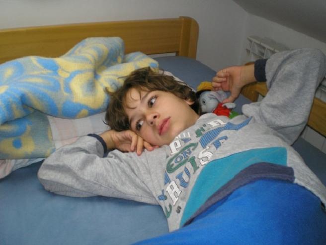 Andrej kada je imao osam godina