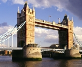 1894 --- London's Tower Bridge --- Image by © Steve Allen/Brand X/Corbis