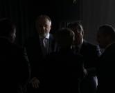 15.10.2013. Tiszaujvaros, Madjarska - Madjarski premijer Viktor Orban i predsjednik Uprave MOL-a Zsoltan Hernadi, za kojim je raspisana Interpolova tjeralica, otvorili su novi pogon butadiena u tvornici Tiszai Vegyi Kombinat.  Photo: Boris Scitar/Vecernji list/PIXSELL