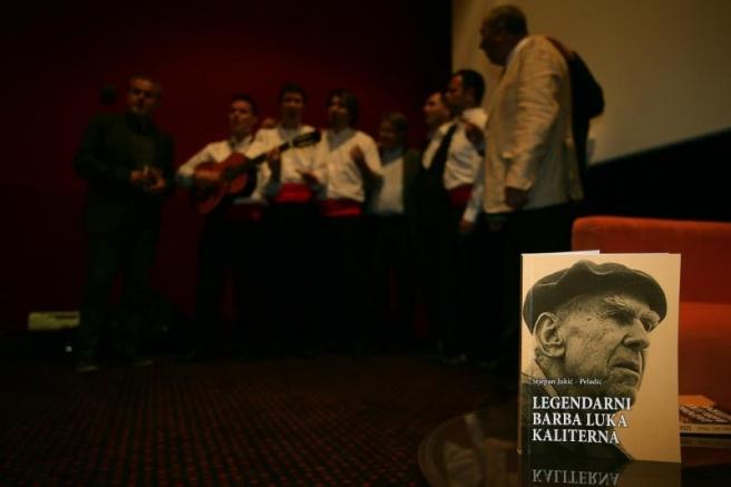 Promocija knjige 'Legendarni barba Luka Kaliterna' autora Stjepana Jukića.