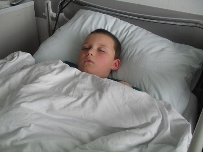 Dijagnoza mu je postavljena kad je imao sedam godina