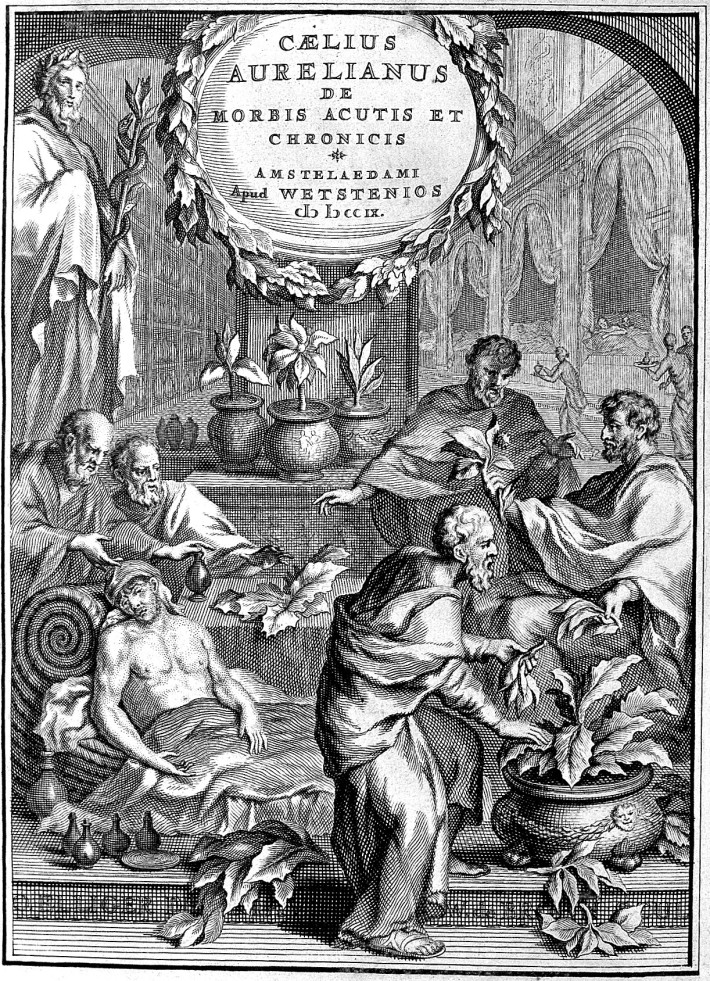 L0002099 Caelius Aurelianus: herbs given to the sick
