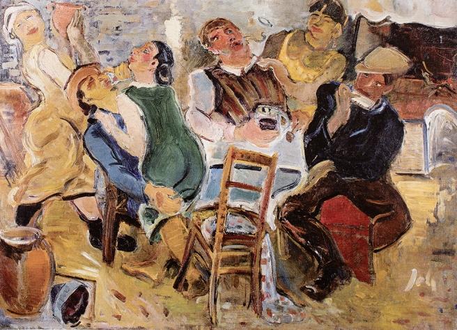 U krčmi, 1935.