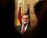 MADRID, SPAIN - FEBRUARY 12: Spain's acting Prime Minister Mariano Rajoy speaks during a press conference following his meeting with the leader of Spanish Socialist Party (PSOE) Pedro Sanchez at the Spanish parliament in Madrid on February 12, 2016. Burak Akbulut / Anadolu Agency, Image: 273862725, License: Rights-managed, Restrictions: , Model Release: no, Credit line: Profimedia, Abaca