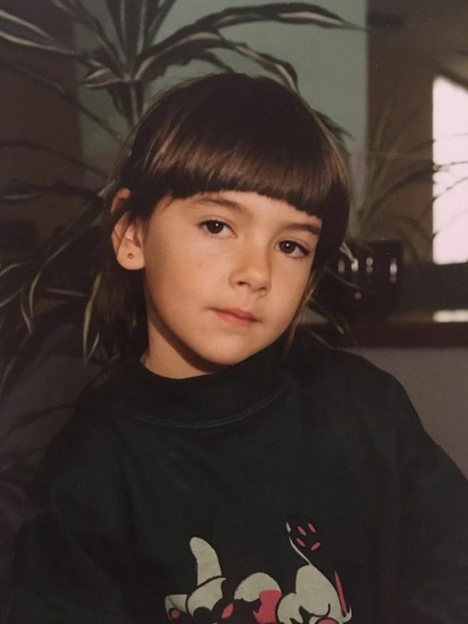 Anja u drugom razredu osnovne škole