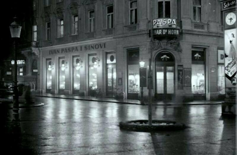 Pogled prema Bogovićevoj 30-ih godina