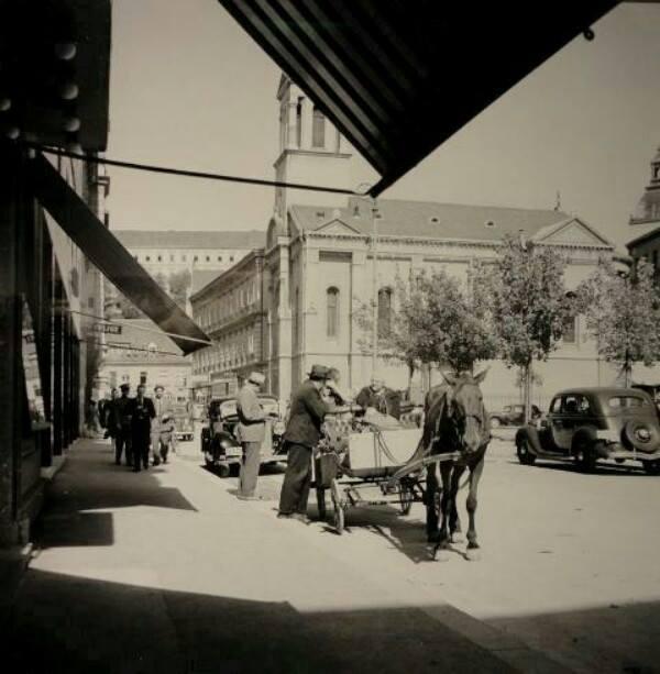 Pogled prema crkvi 1938.