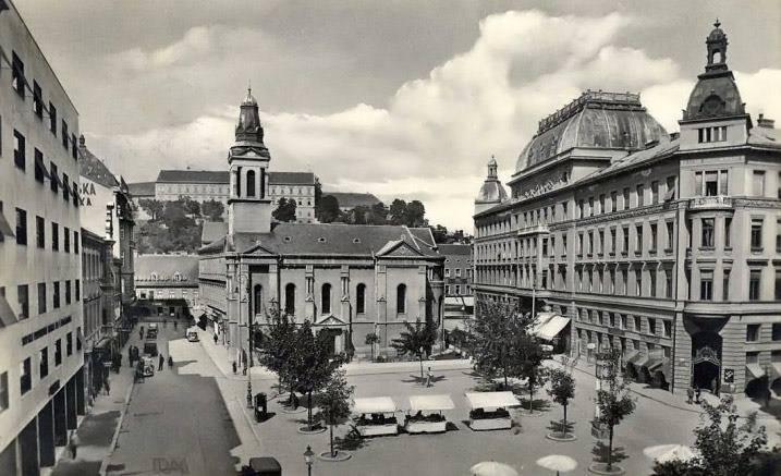 Pogled s krova 30-ih