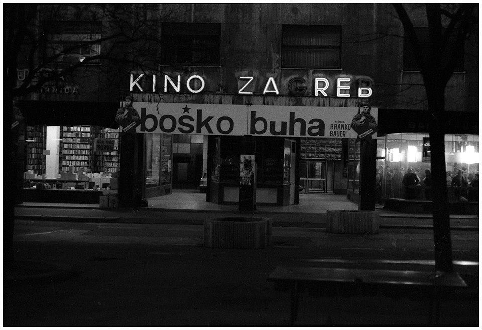 Pogled prema kinu Zagreb 70-ih