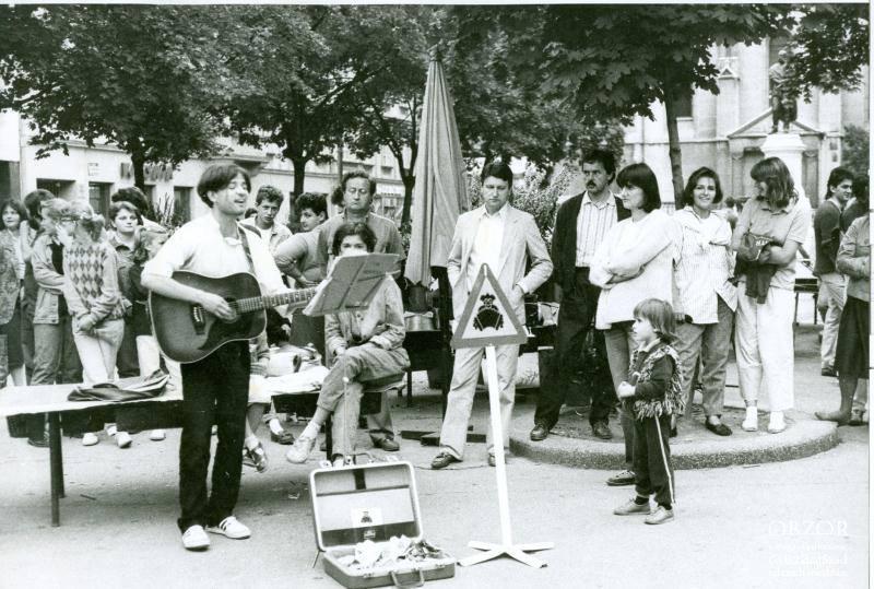 Ulični koncert 1981.