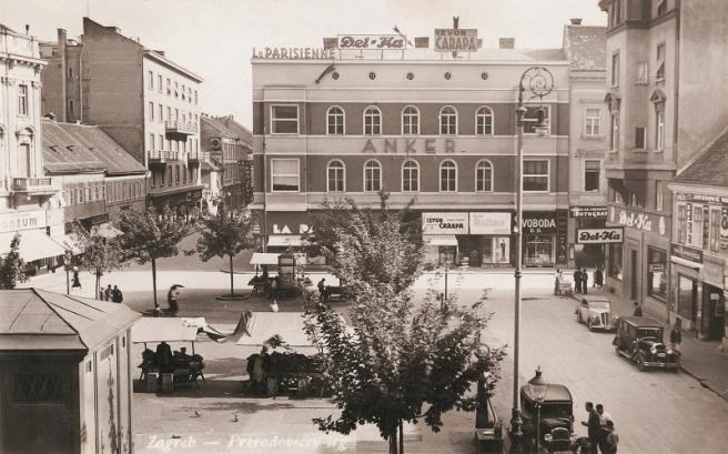 Ovako je Cvjetni trg izgledao 30-ih