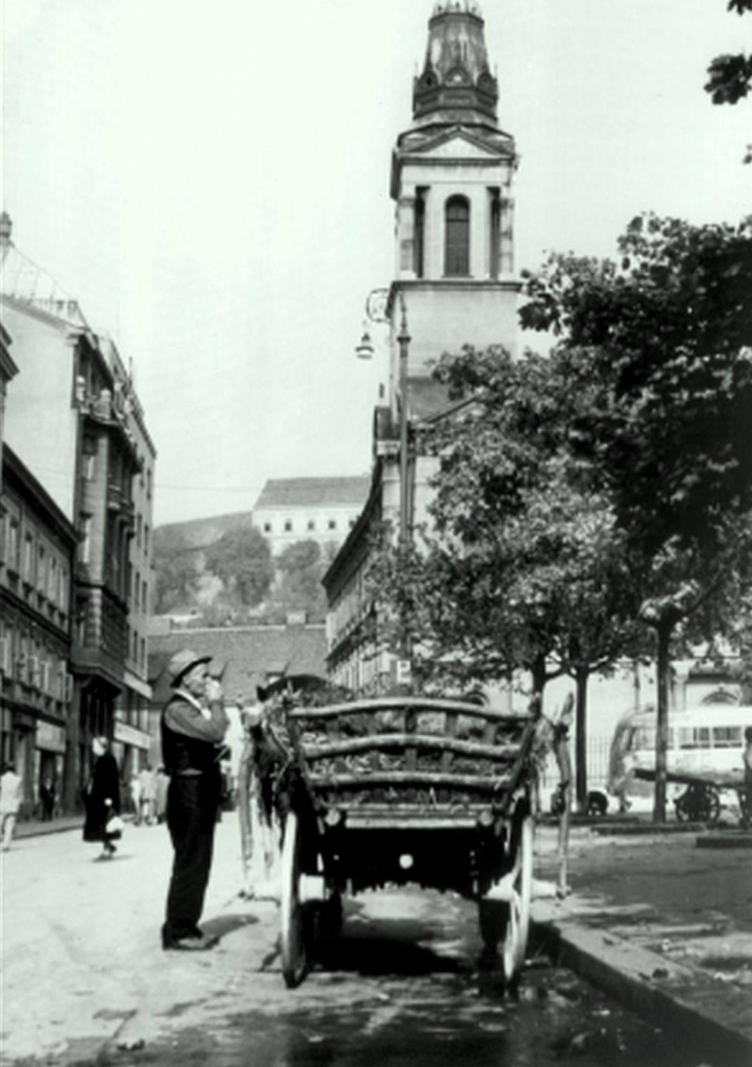 Kasne 30-e, pogled prema Preobraženskoj