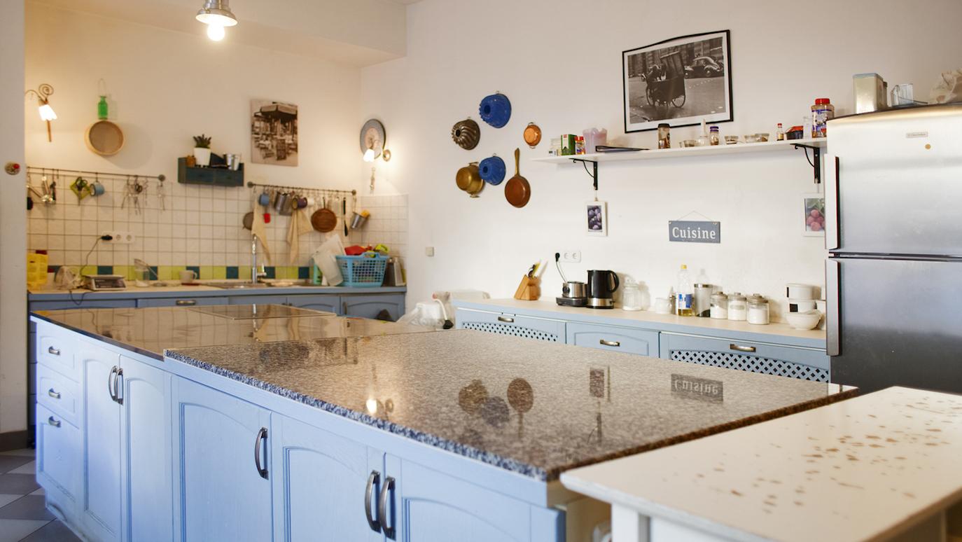 Kuhinja u kojoj peku Katin kruh