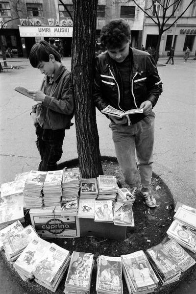 Prodavači stripova 80-ih