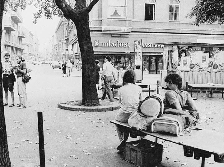 Pogled prema Preradovićevoj 80-ih