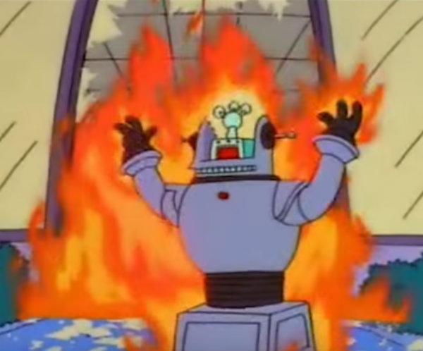 Scena iz Simpsona