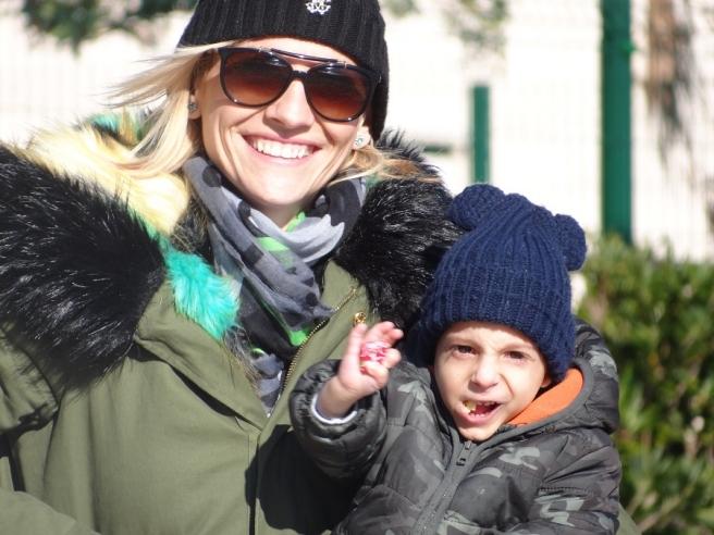 Nevio i mama Tea snimljeni prošle zime u Dubrovniku